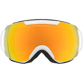 UVEX Downhill 2000 CV Gafas, white mat/colorvision orange fire